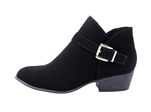 gary 10 western stacked heel