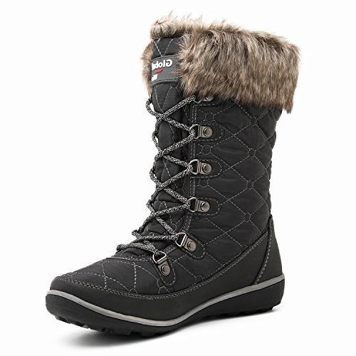 GLOBALWIN Waterproof Snow Boots US