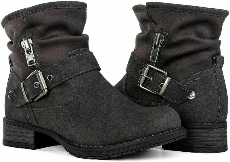 Global Win GLOBALWIN Women's Winter Fasion Ankle Boots