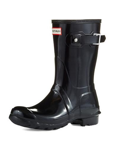 gloss short boots