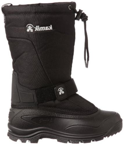 Kamik Women's Boot,Black,6 M US