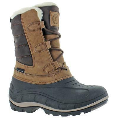hannah women s waterproof winter snow boots