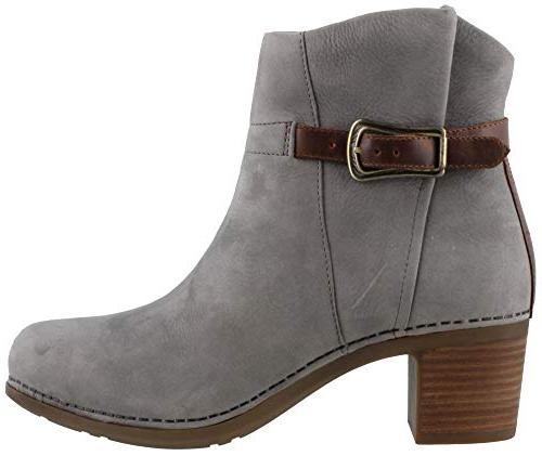 hartley boot grey nubuck 38
