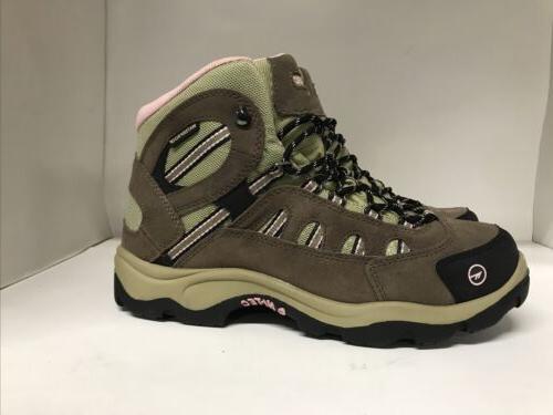 Hi-Tec Bandera Mid-Waterproof Suede Boots Size 10