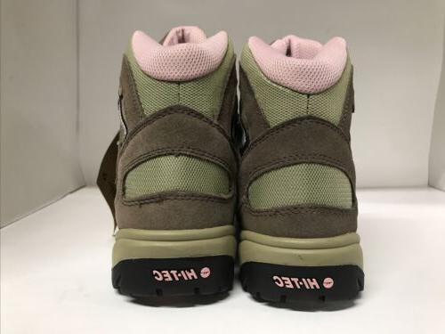 Boots Brown/Pink/Green Womens 10