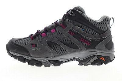 Hi-Tec Vent Waterproof Mesh Lace Up Boots