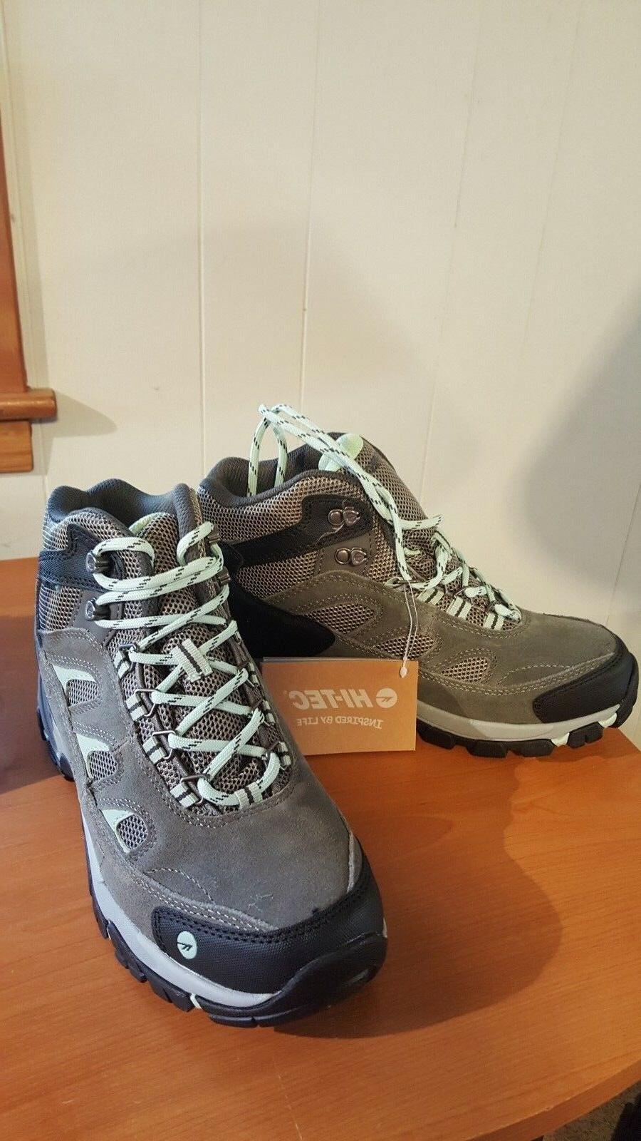 Hi-Tec Women's Woman's Logan Mid Waterproof Hiking Boot 8.5