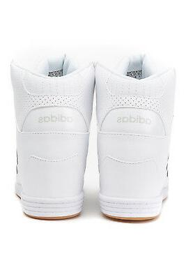 ADIDAS HIGH TOP SHOES WHITE COMFORT WOMENS WEDGE