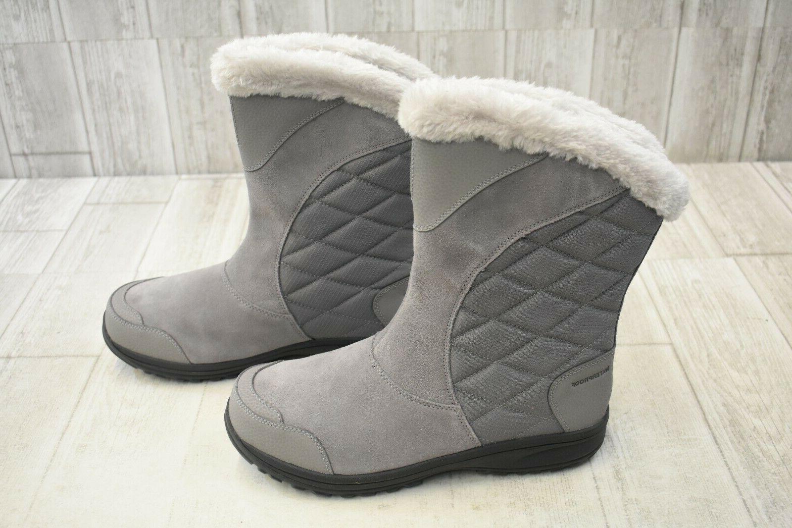 COLUMBIA Ice Maiden Slip Boots 11 -