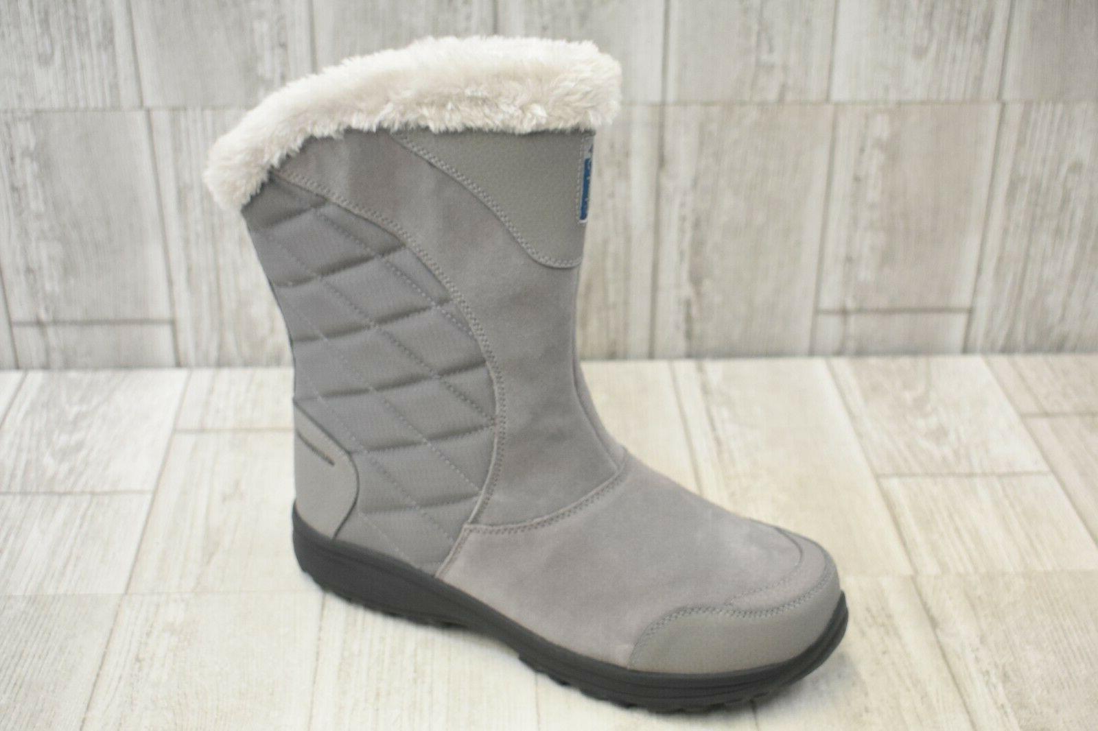 COLUMBIA Ice Maiden Slip On Winter Boots 11 Light
