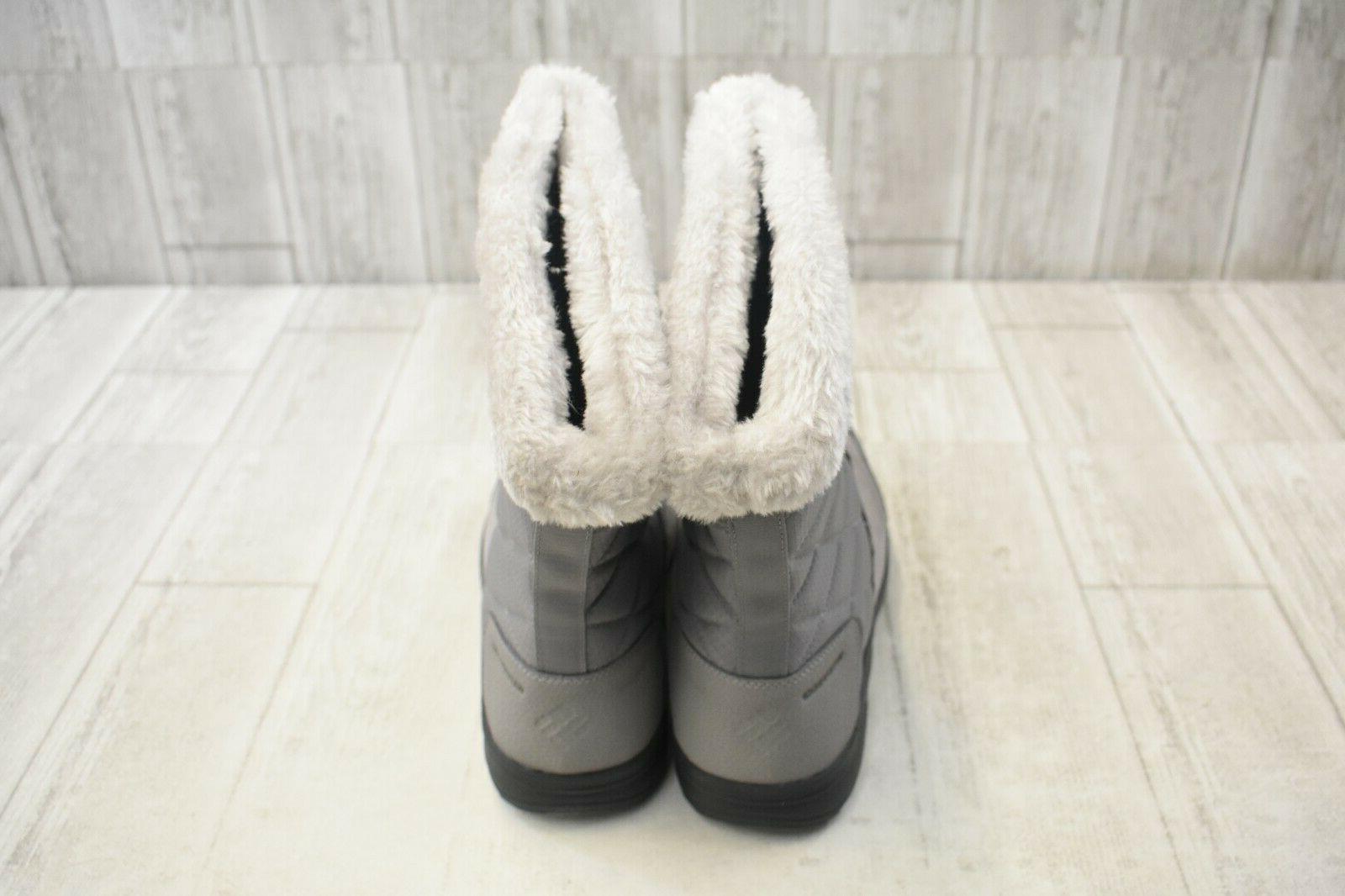 COLUMBIA Slip On Boots 11 Grey