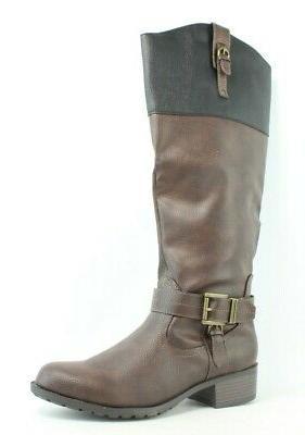 Rampage Women's Ivelia Fashion Knee High Casual Riding Boot,