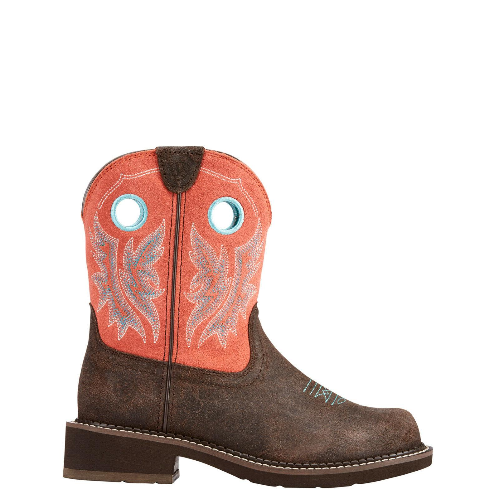 Ariat® Ladies Heritage Cowgirl Coral Boots 10023114