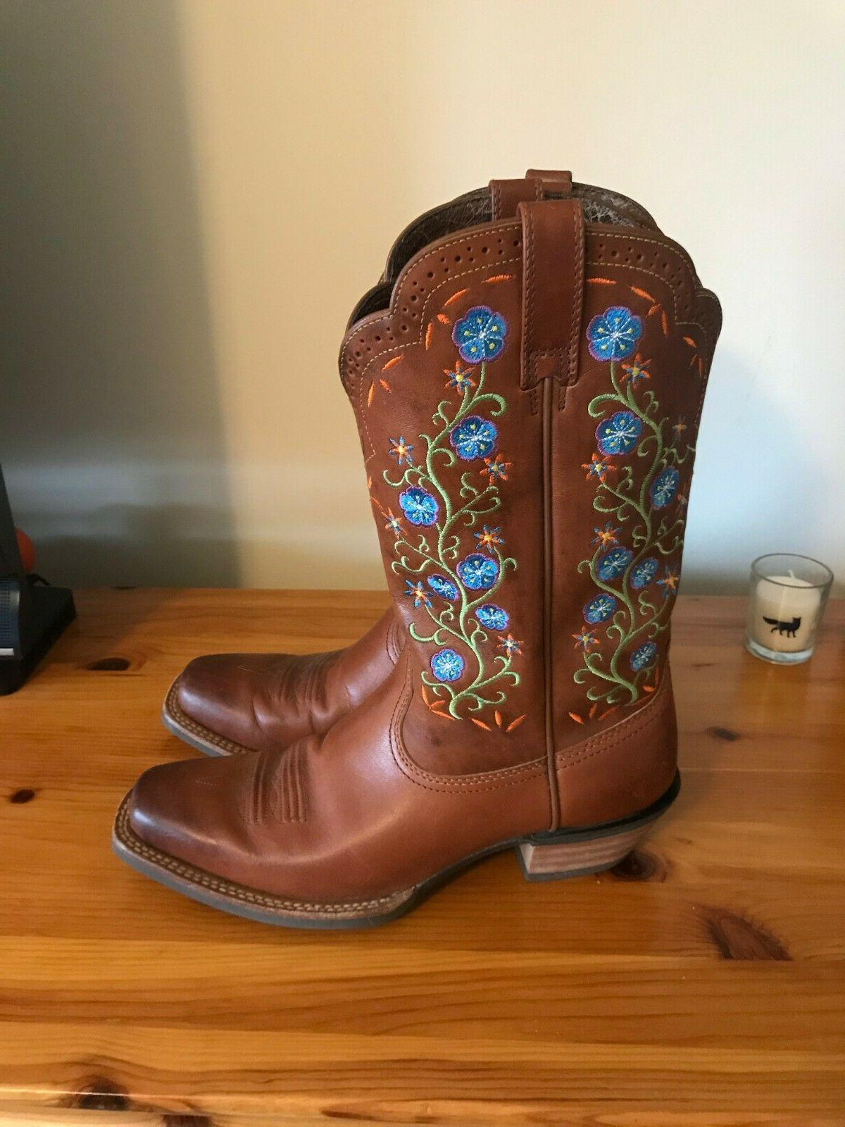 ladies legend square toe cowgirl boots gorgeous