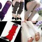 Leg Warmers Women Warm Knee High Winter Knit Crochet Legging