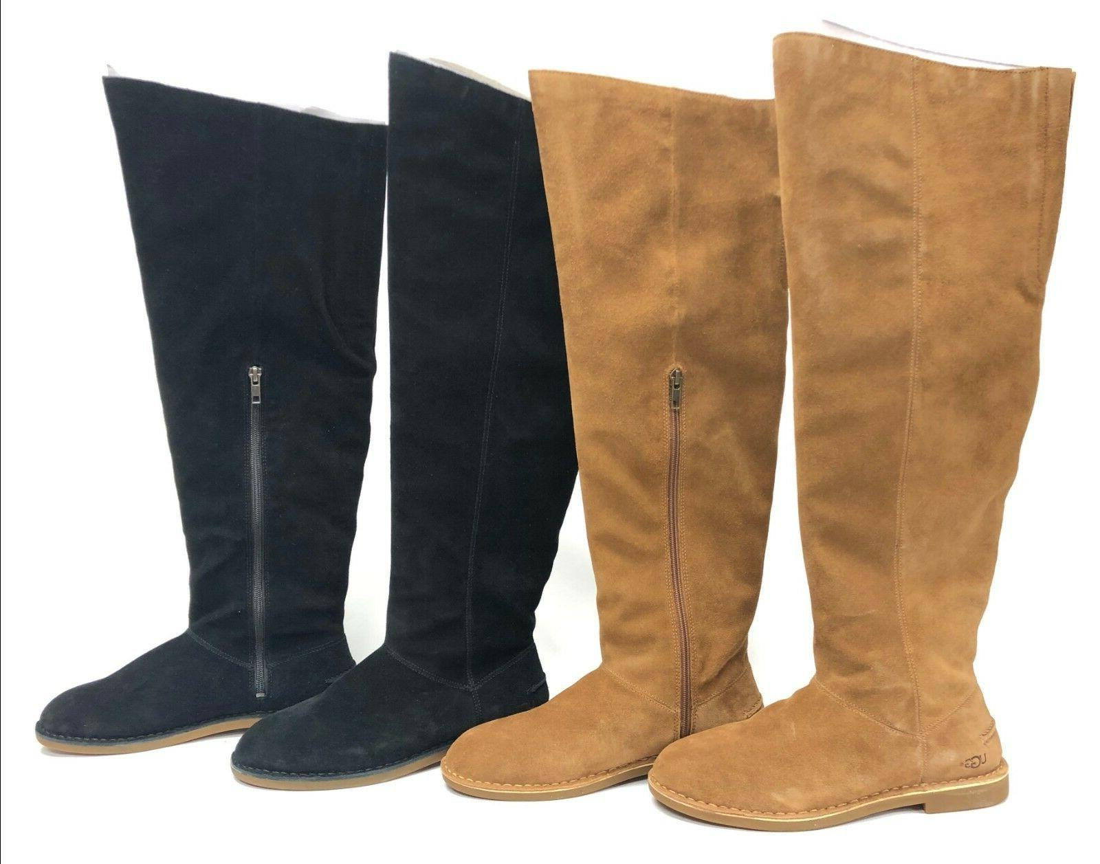 Ugg Australia the Knee Boot Black or Chestnut 1095394 Tall Boots