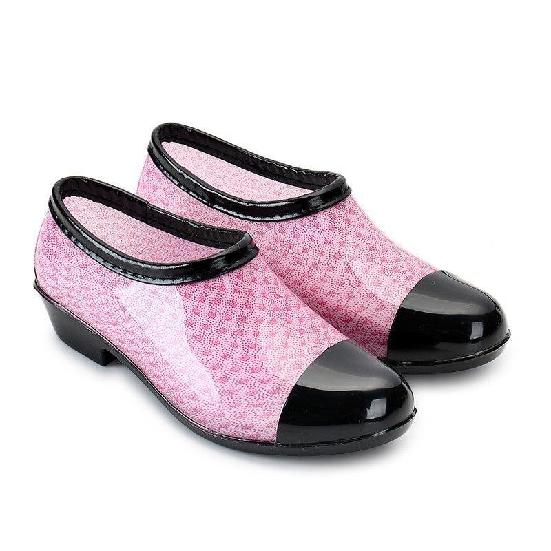 Low Raining Waterproof Toe Work Rubber <font><b>Boots</b></font>
