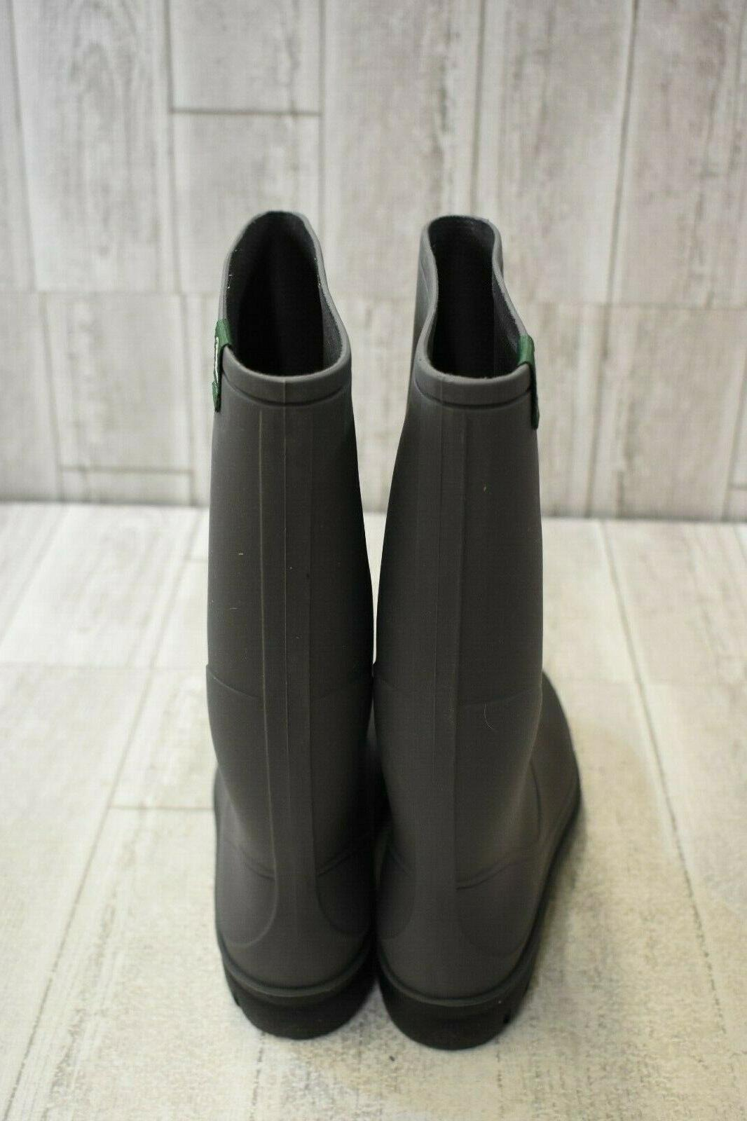 Kamik Miranda Waterproof Rain Boots, Size Charcoal NEW