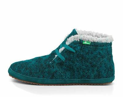 NEW SANUK AMBRRR CHUKKA BOOT Faux Shearling Lining WOMENS In