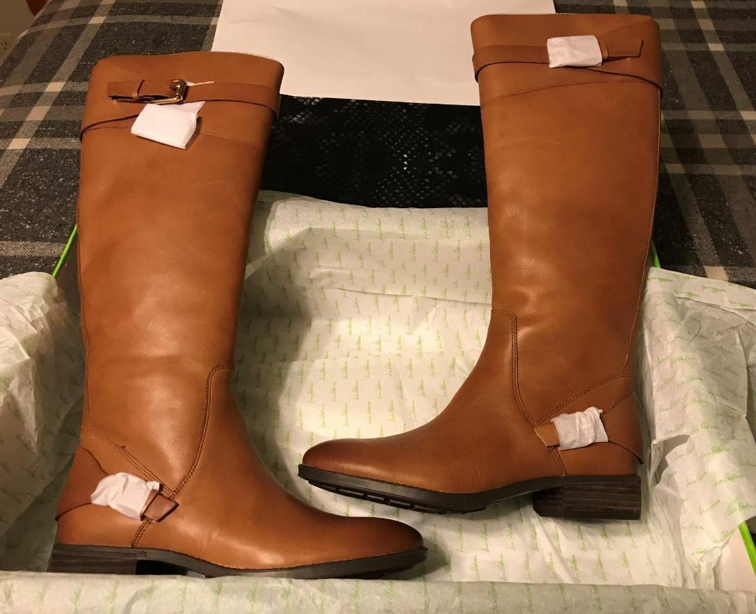 NEW IN BOX - Sam Edelman Women's Portman Knee High Boots, Wh