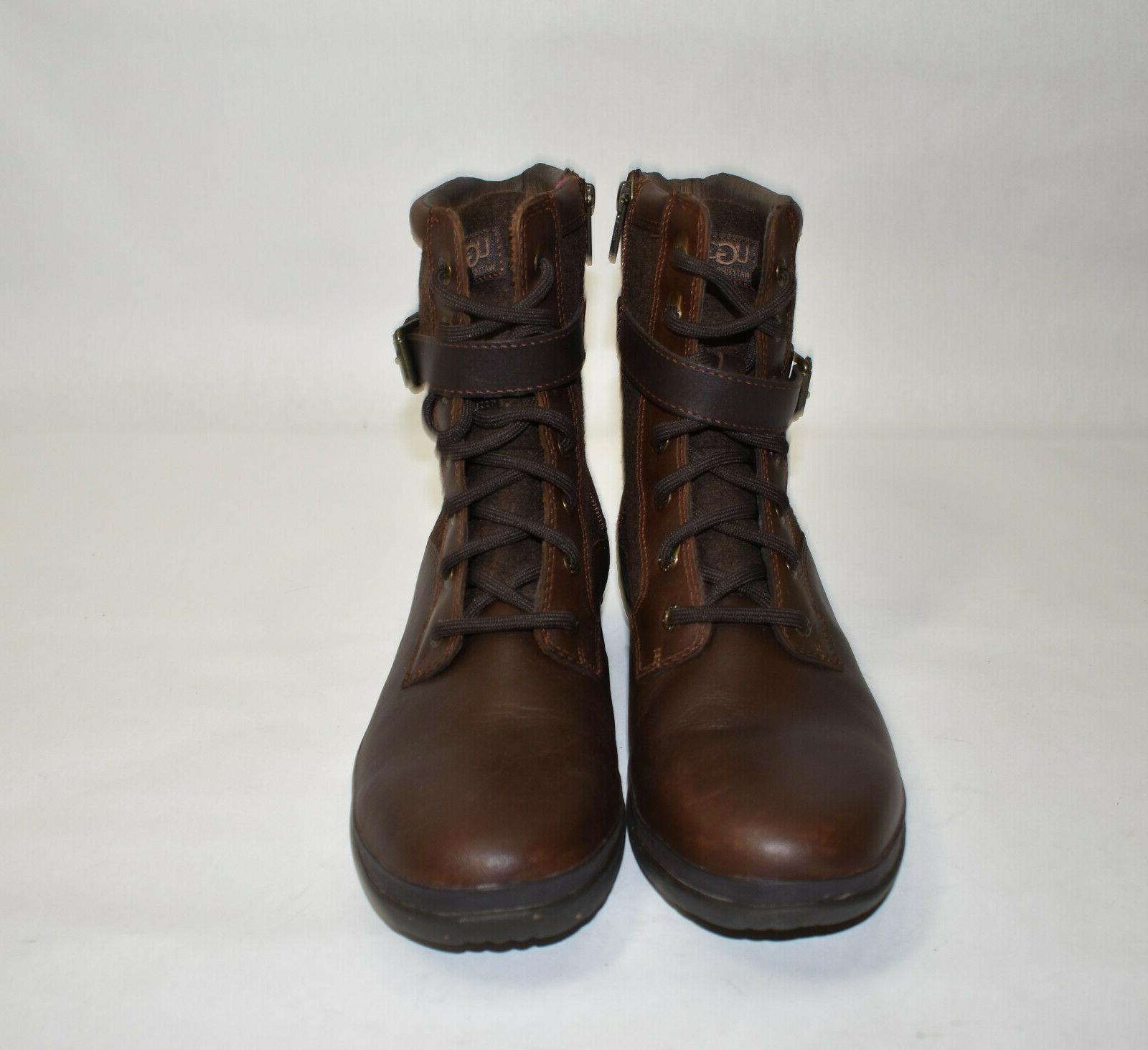 New! Kesey Waterproof Boot Brown Leather 9