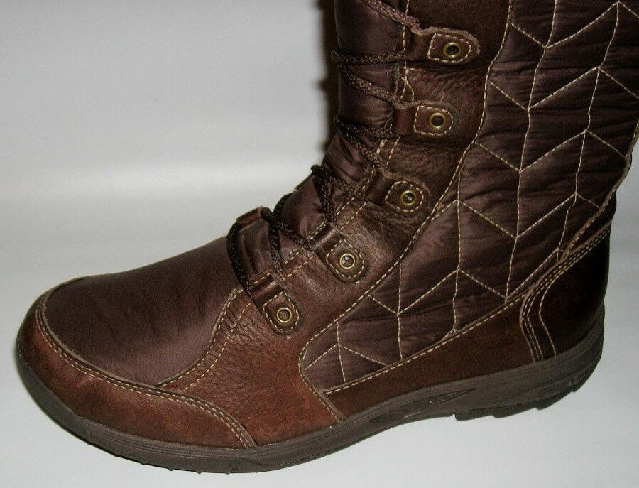 NEW TEVA BROWN WINTER BOOTS SIZE