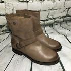 NEW Olukai Nohuku $260 Women's 9.5 Clay Buckle Leather Moto