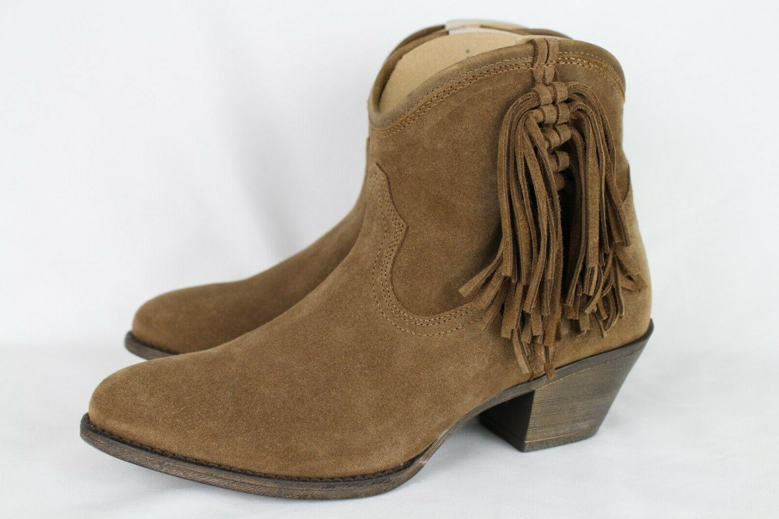 New Ariat Fringe Ankle Boots