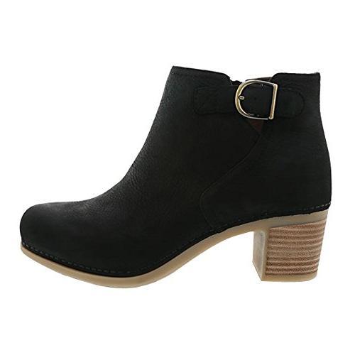 new women s henley boot black nubuck
