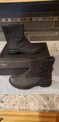 NEW Merrell Womens Captiva Launch Waterproof Boot  Black 9 S