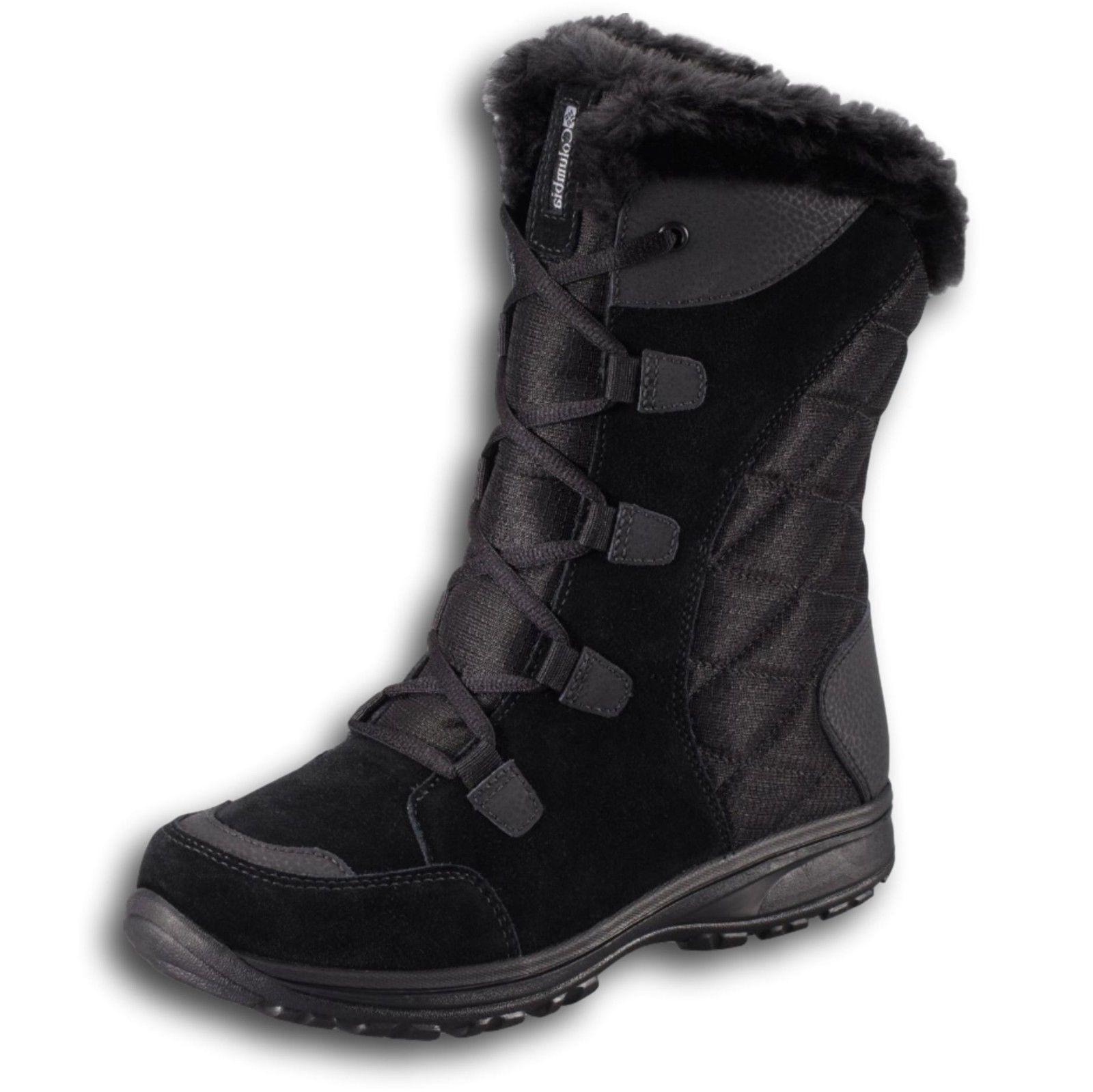 new womens icefall waterproof lace up leather