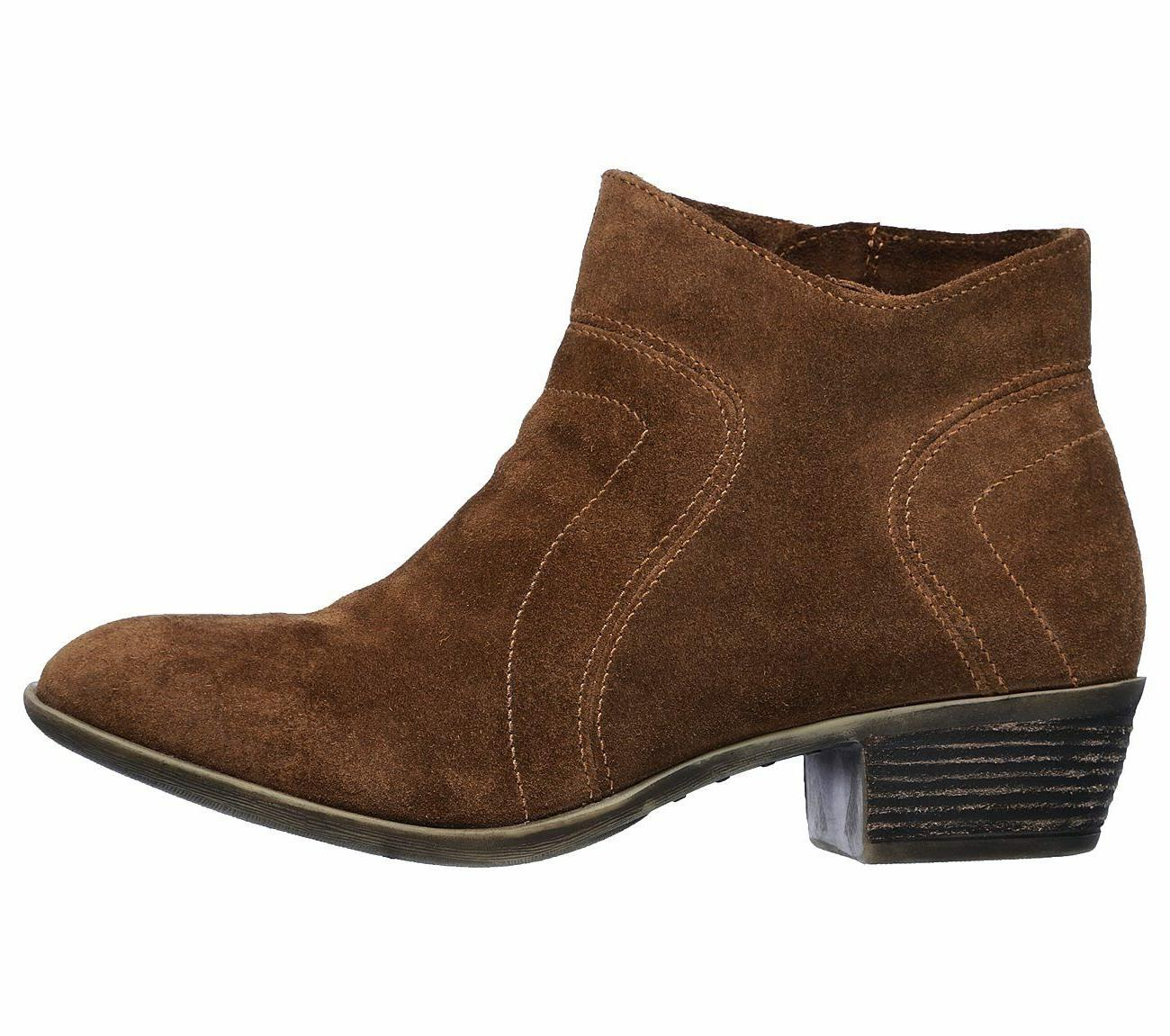 New Suede Ankle Boots 48719 Brown pr