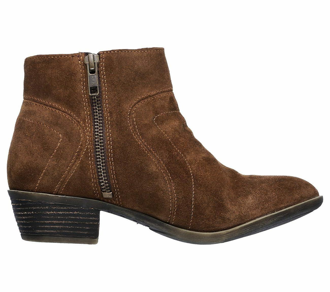 New Womens Suede Ankle Boots 48719 112G