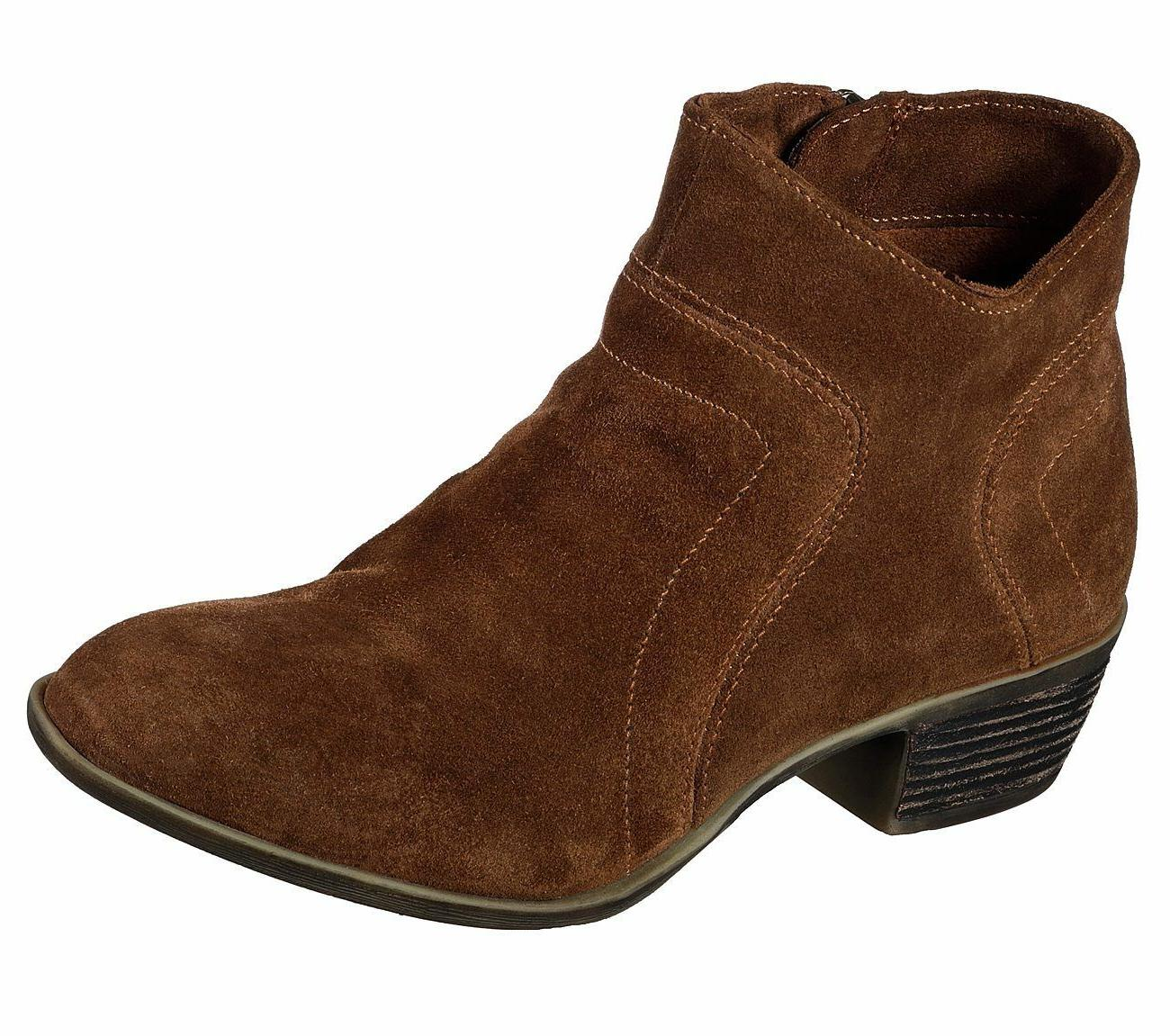 new womens lovely suede ankle boots style