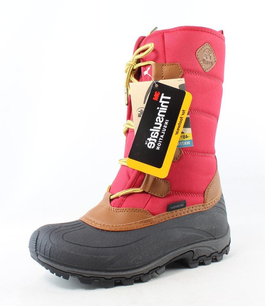 New Kamik Womens Mcgrath-W Red Snow Boots Size 6