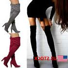 new womens over the knee suede boots
