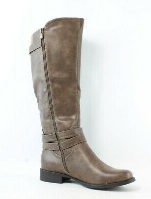 New Taupe Boots 9