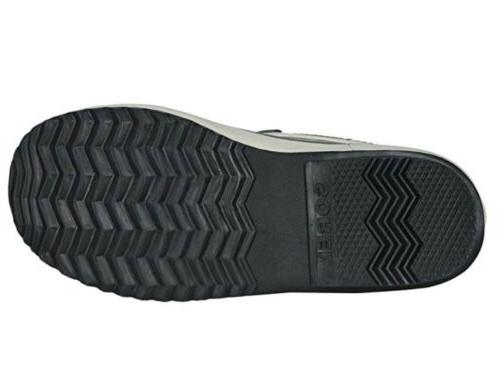 Carnival Waterproof Boot 8.5 Quarry Black Gray
