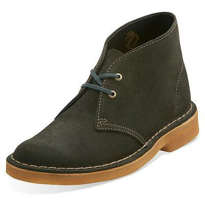 Clarks Originals Desert Boot Women's Suede Chukka Round Toe