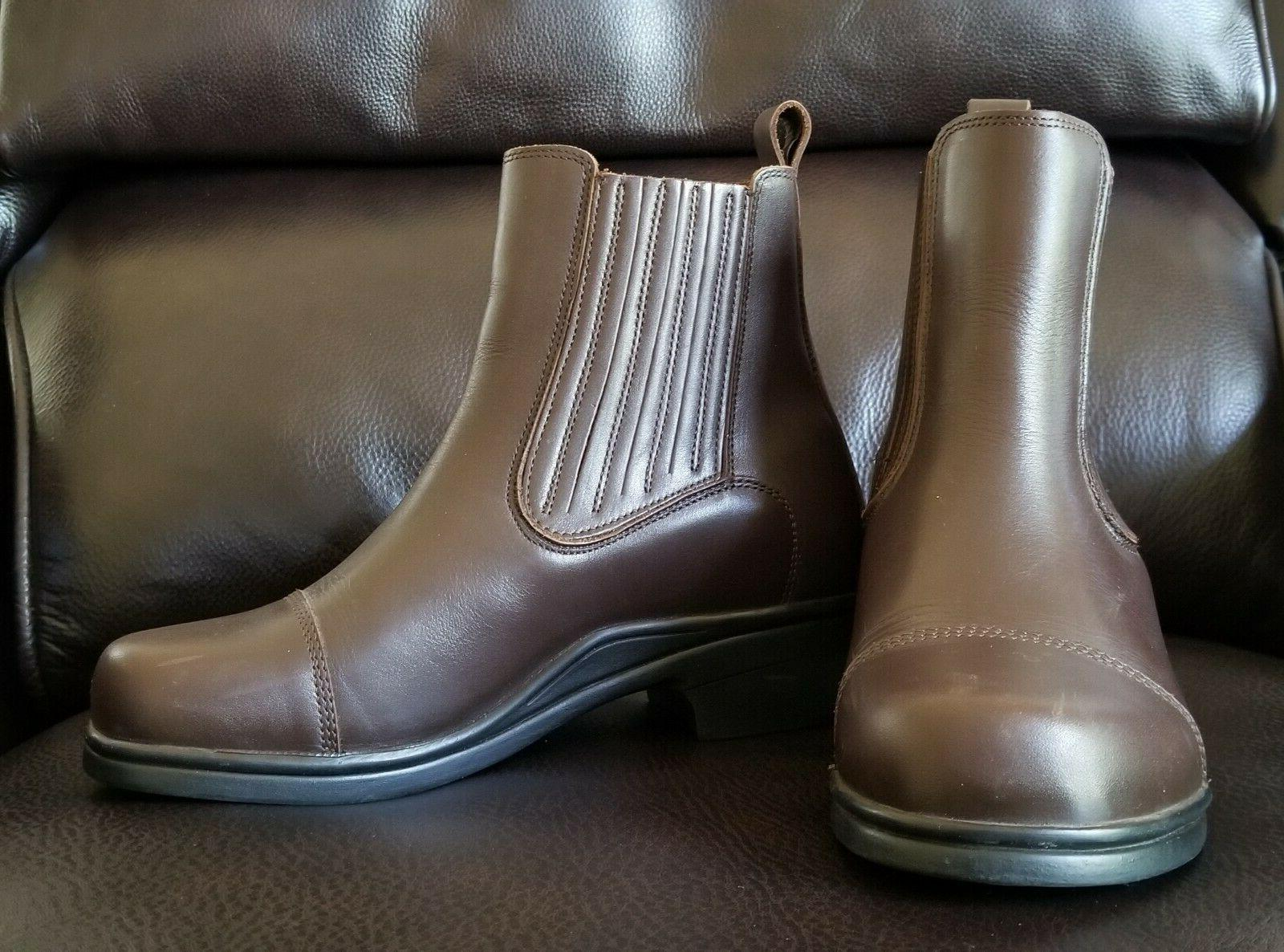 Dansko PADDOCK Boots Size Brown Leather Pull-On