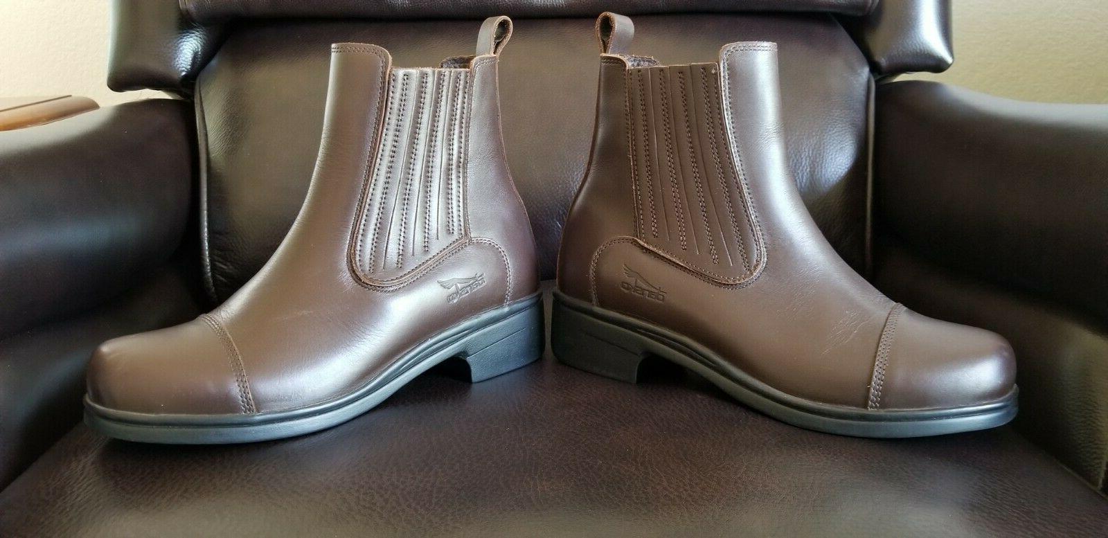 Dansko PADDOCK Boots Womens Size 8 Brown Pull-On