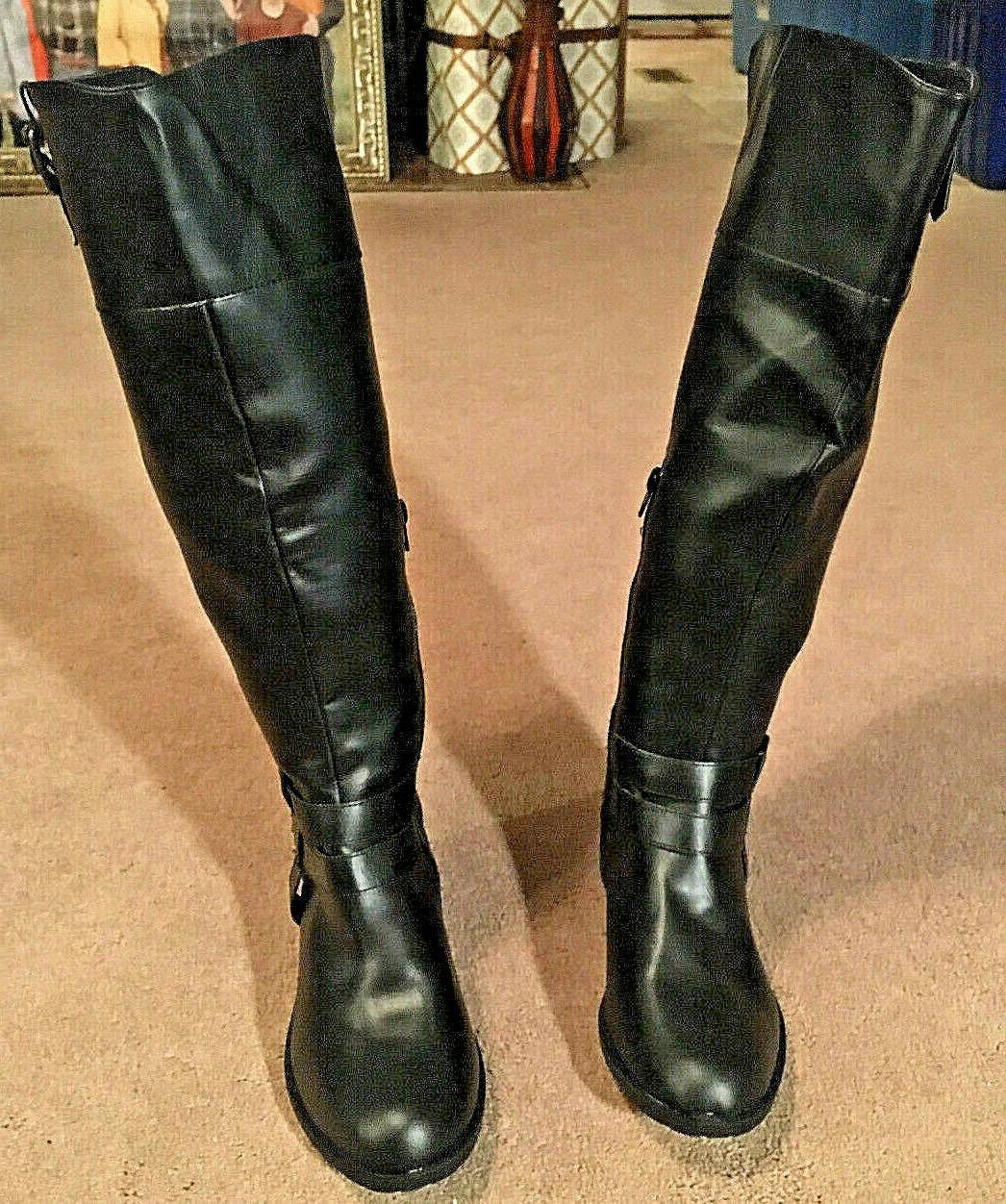 Rampage Ram-Ingred Wide Calf Riding Boot - Women's Size 7M B