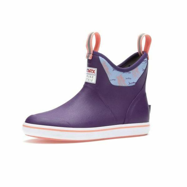 """XTRATUF Salmon Sisters Women's 6"""" Ankle Deck Boot-Fishing or"""