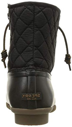 Sperry Women's Rain Boot, Quilted, 8.5 US