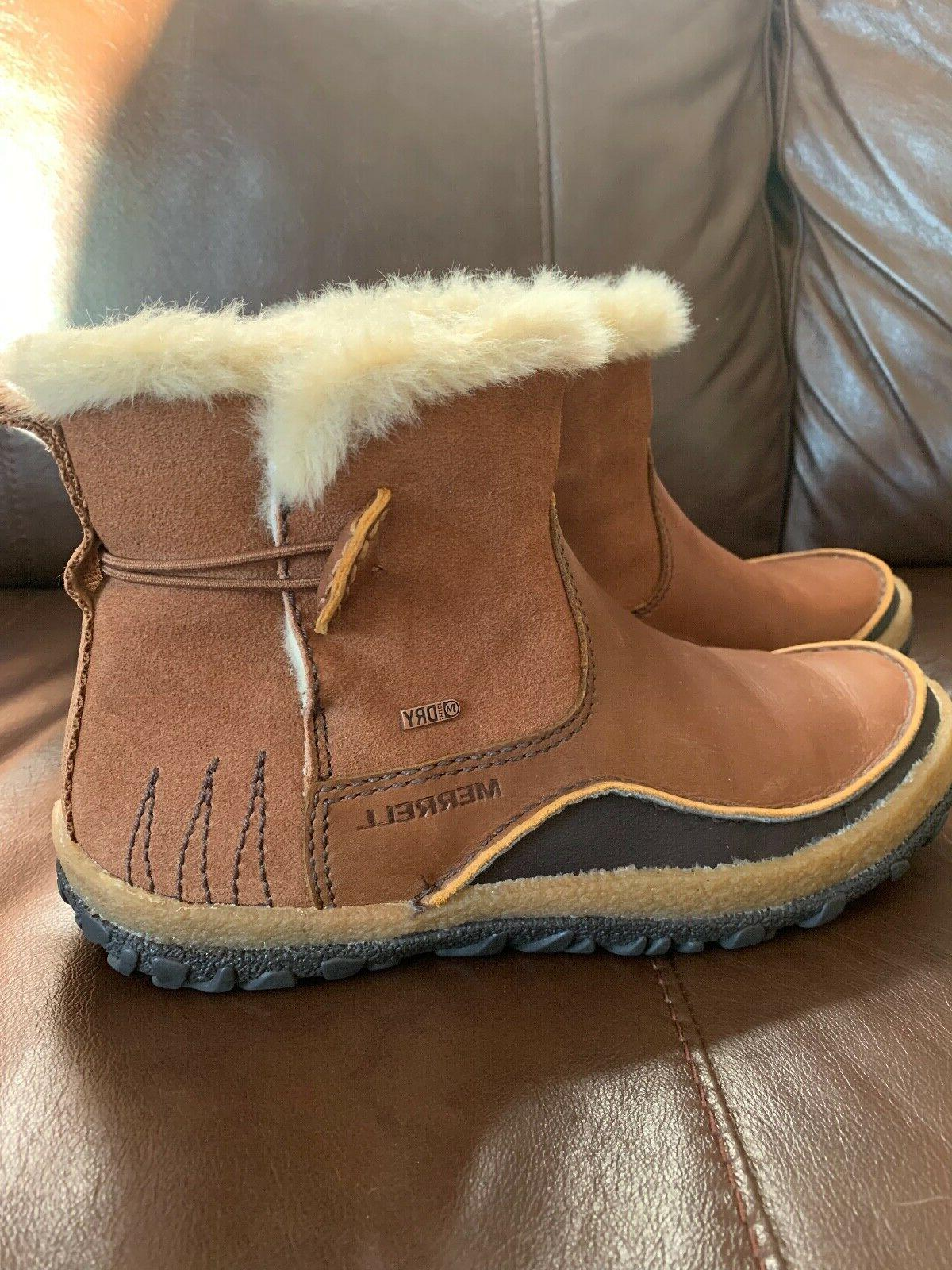 size 9 tremblant pull on boot