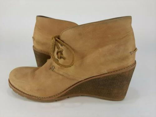 Sperry Top Sider Prow Boots Beige Size