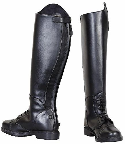 TuffRider Women's Starter Back Zip Field Boots in Synthetic