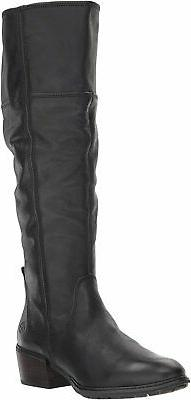 Timberland Sutherlin Bay Womens's Black Tall Boots 8.5M