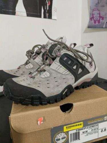 trailscape outdoor leather performance trail boots women