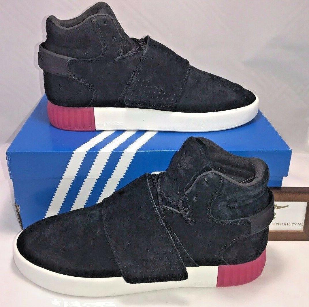 Women's Adidas Tubular Sneaker, Size 8 M - Black